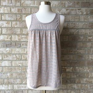 American Eagle Outfitters Top Metallic Striped M🌸